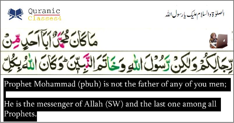 Last Prophet of Allah