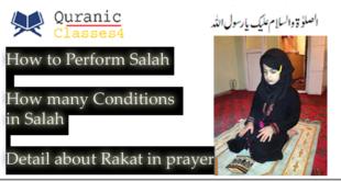 Perform Salah